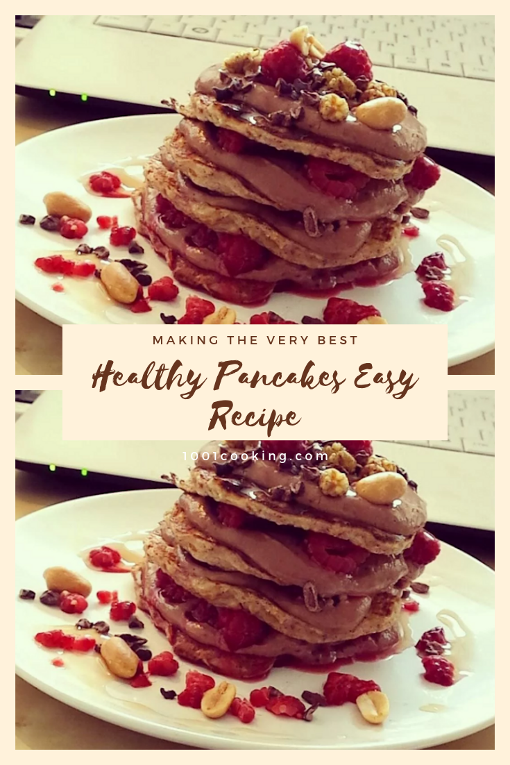 Healthy Pancakes Easy Recipe