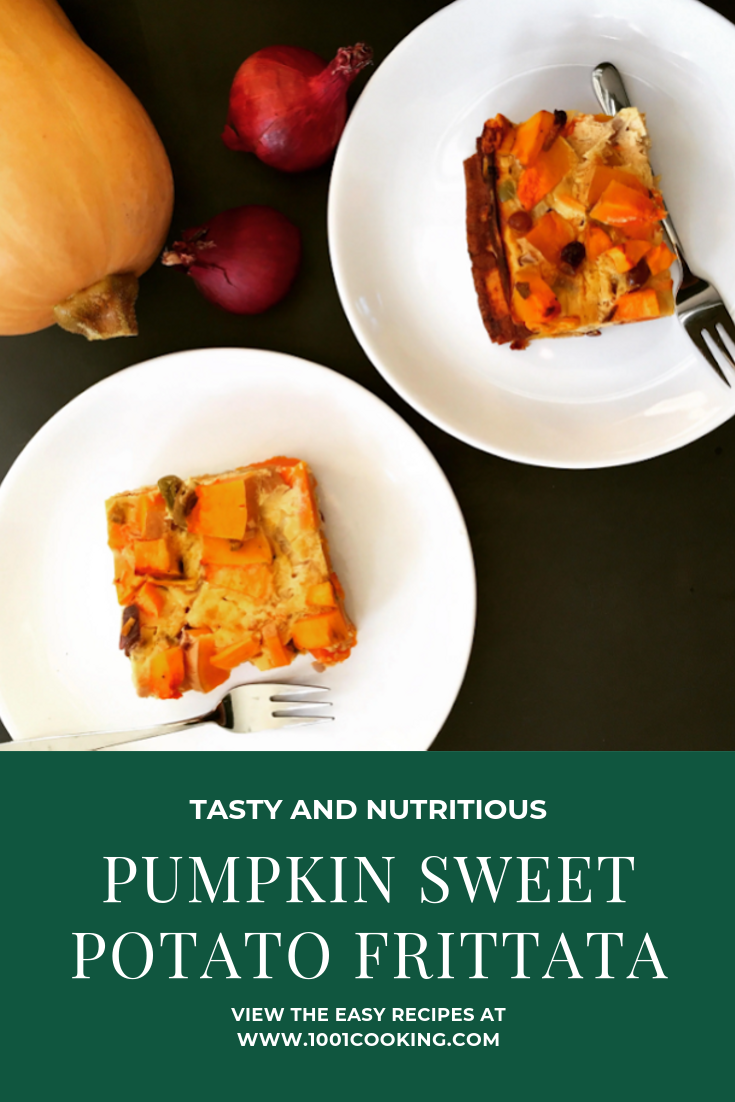 Pumpkin Sweet Potato Frittata