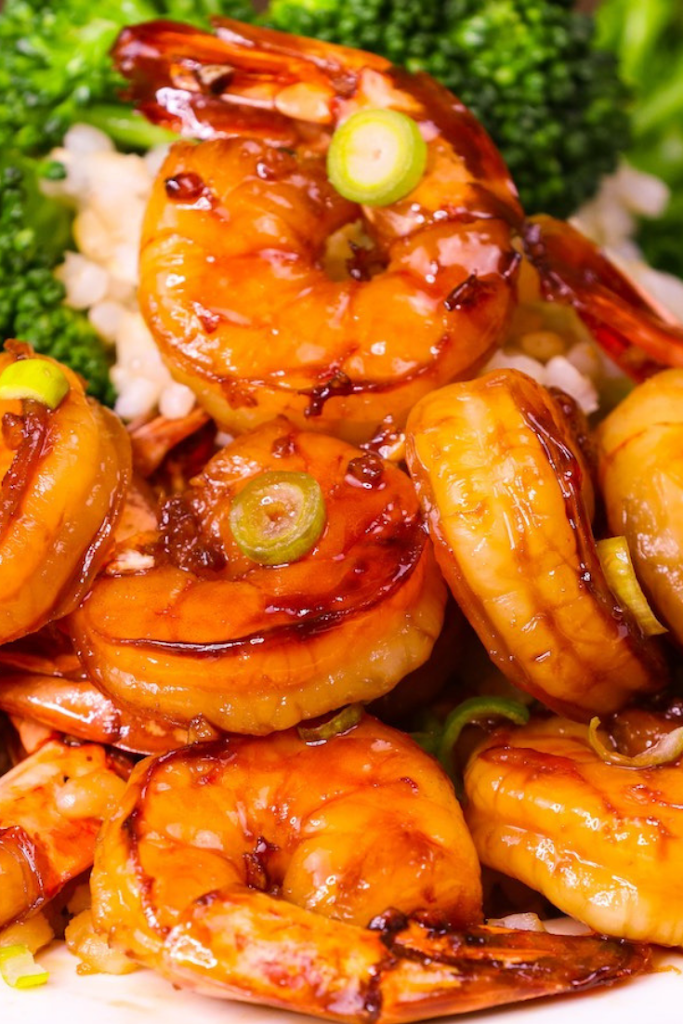 15 MINUTE EASY HONEY GARLIC SHRIMP